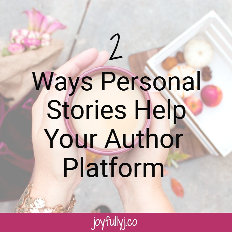 Personal stories help separate you from everyone else that has a similar brand to yours. It's what makes you unique.