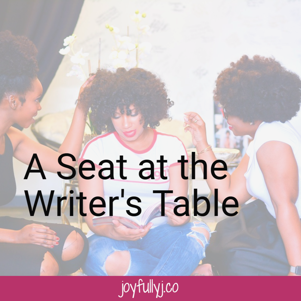 A Seat at the Writer's Table