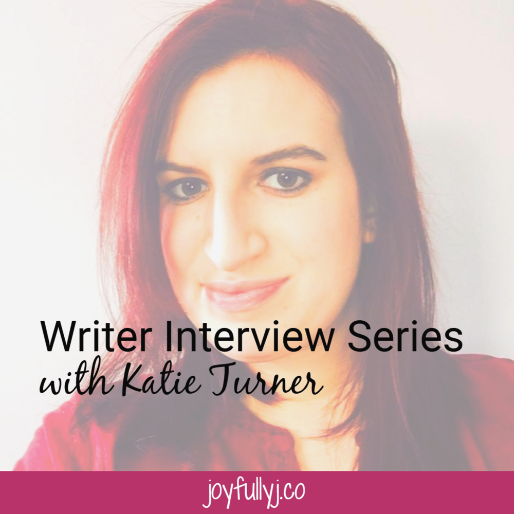 Many moms feel as if they must put their passions on the backburner, but Katie Turner shares with us how she is able to be both a mom and writer.