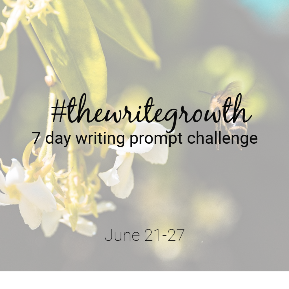 the write growth writing prompt challenge