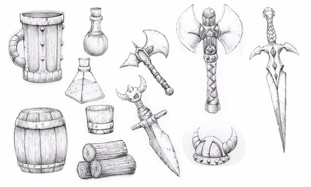 Sketches: Jesse Sosa