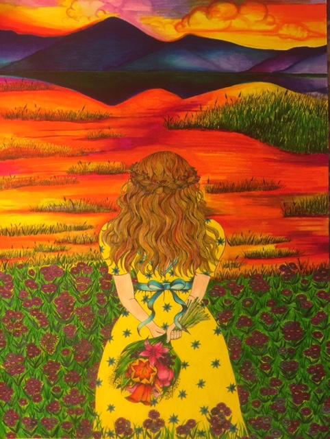 Detailed Art: Lisa Grosfeld  Psalm 121