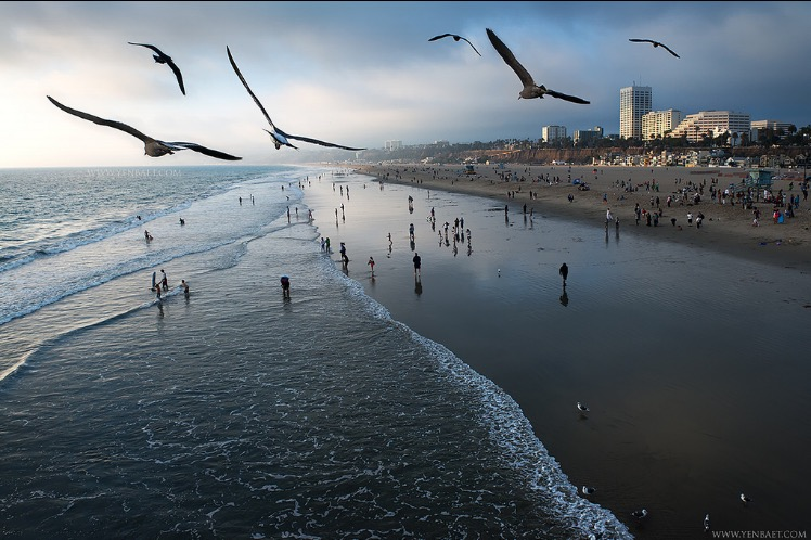 photography: Yen Baet / Santa Monica Beach, Los Angeles