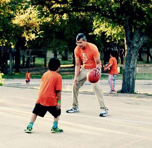 Hoopin' with Coach Julian