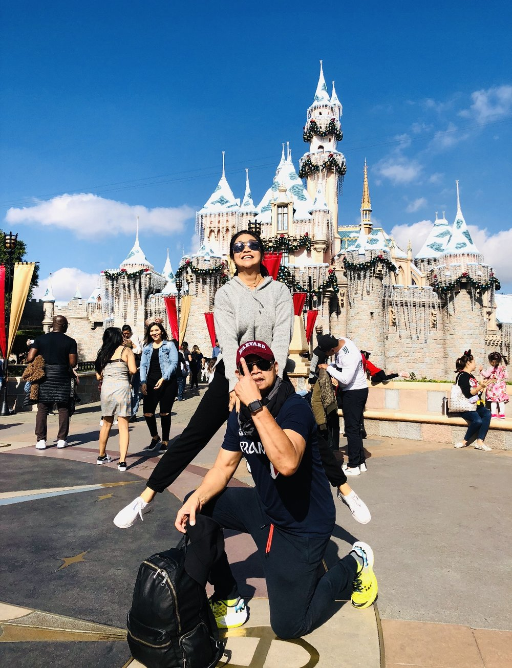 Disneyland  with Child-Spouse