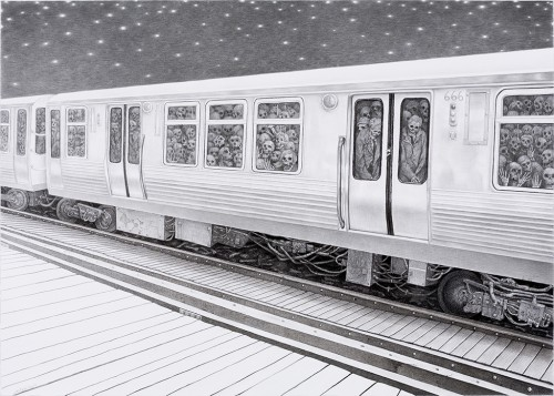 Midnight-Commuters-Laurie-Lipton-2007.jpeg
