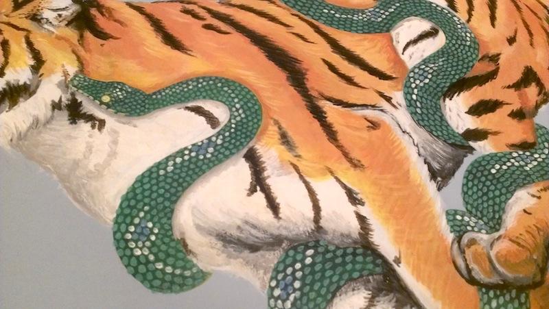 tiger&python