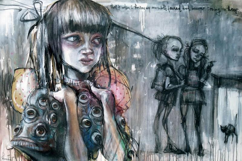 Herakut, 'InvisibleFriend'