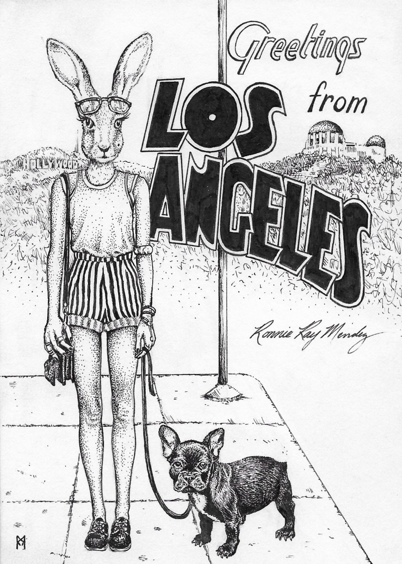Greetings from Los Angeles by Ronnie Ray Mendez