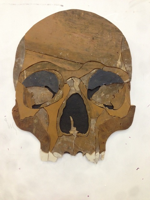 skull brown