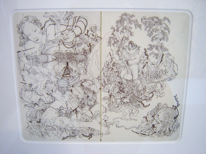James Jean Drawing
