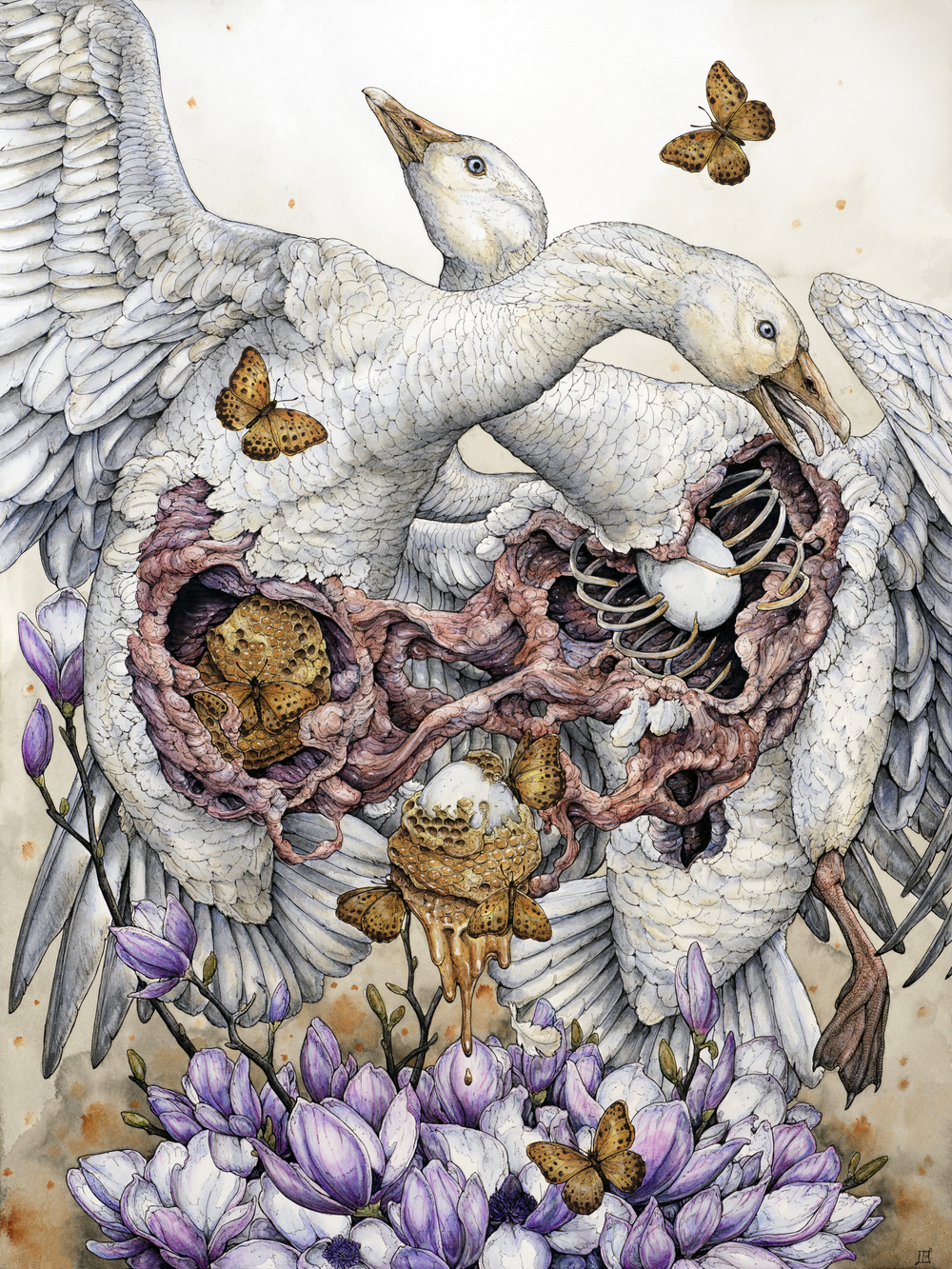 'To Kill the Goose that Laid the Golden Egg' by Lauren Marx