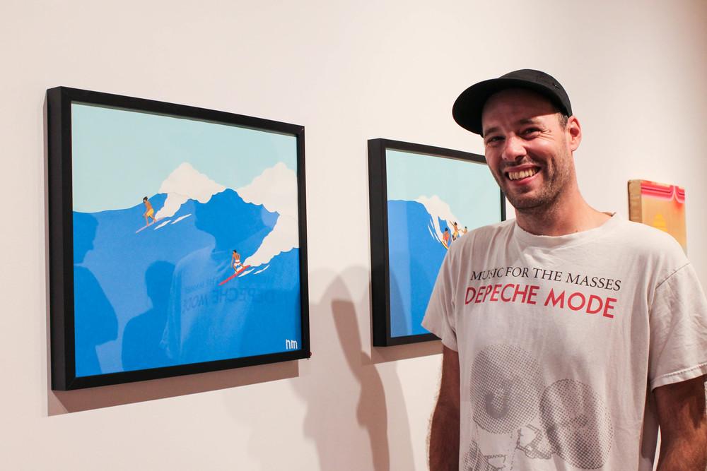 Artist Nathan McKee