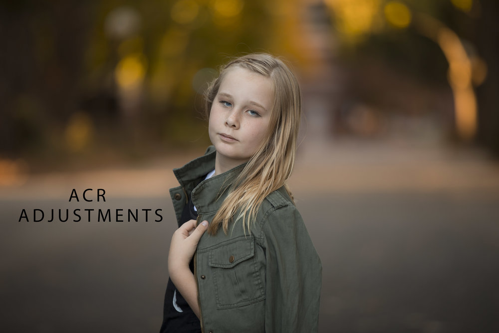 Raw adjustments red bluff portrait photographer