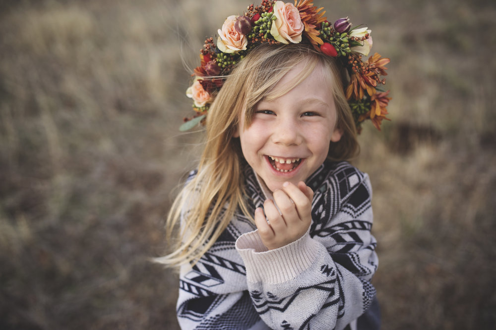 laughter kid portrait red bluff photographer