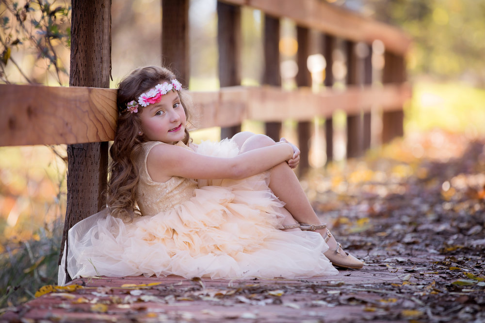 couture dress child session red bluff photographer