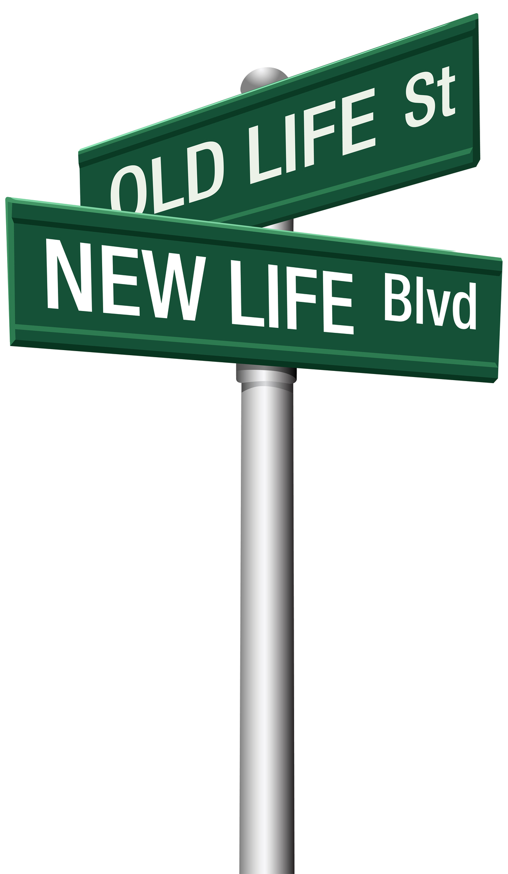 New Life or Old change street signs.jpg