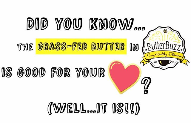 #Butter from #grassfed cows is much higher in #Omega-3 fatty acids and vitamin K2 (a vitamin that isessential to building strong bones, preventing heart disease, and crucial part of many other bodily processes) compared to butter from grain-fed cows. So, now you know! #sonowypuknow #hearthealthy #yummy #vitamink2 #buttercoffee #healthycoffee  #jumpstartyourday #keto #paleo #healthyfats #protein #collagen #crossfit #intermittentfasting #bulletproofcoffee