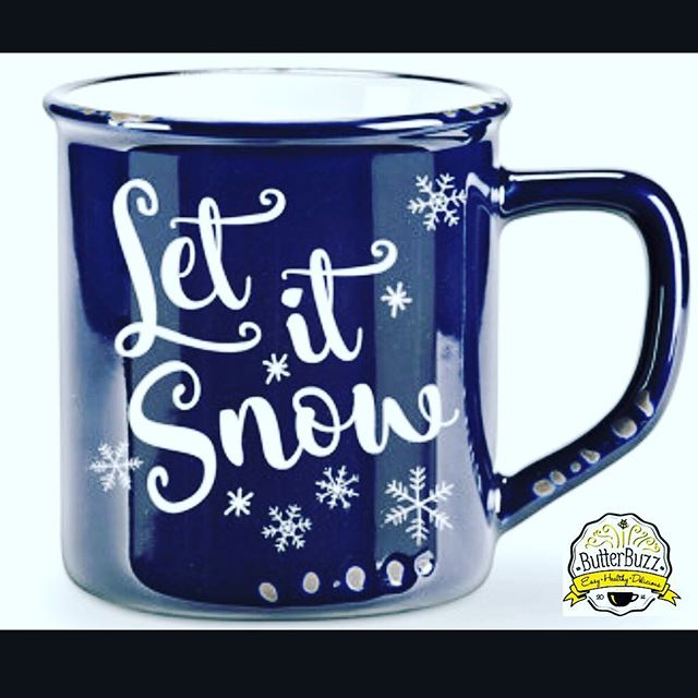 Who's ready for a SNOW DAY? ❄️☃️❄️ I'm all set, with ButterBuzz in the freezer, I'm ready for anything Mother Nature dishes up!  Are you?  #mugshotmonday #snowday #buttercoffee #caffeine #paleo #keto #crossfit #healthybreakfast #collagen #protein #coffeelover