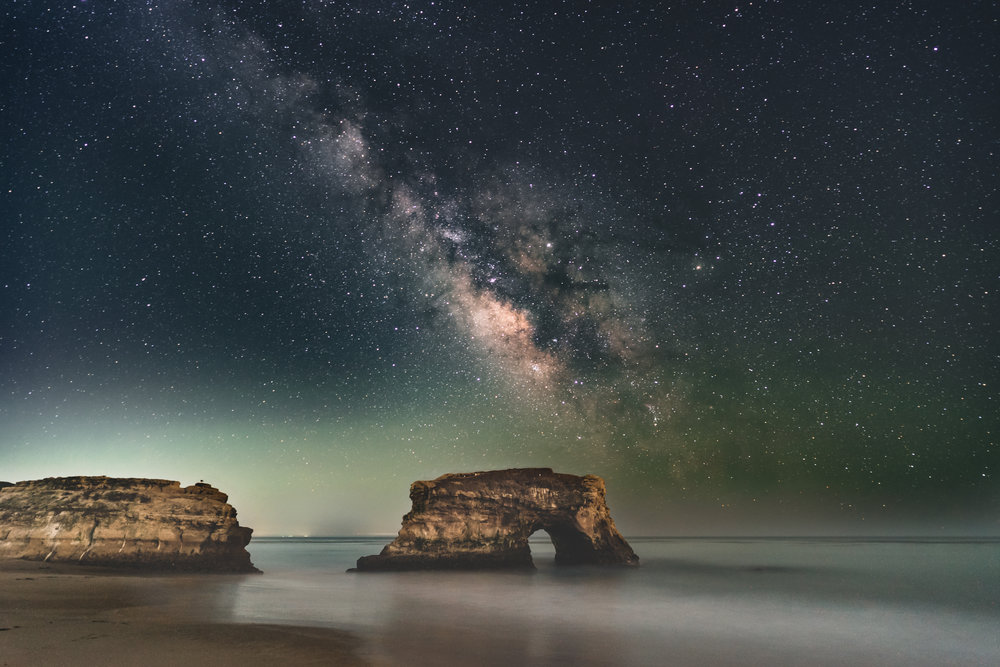 Milky Way over Natural Bridges. Cool, right!?