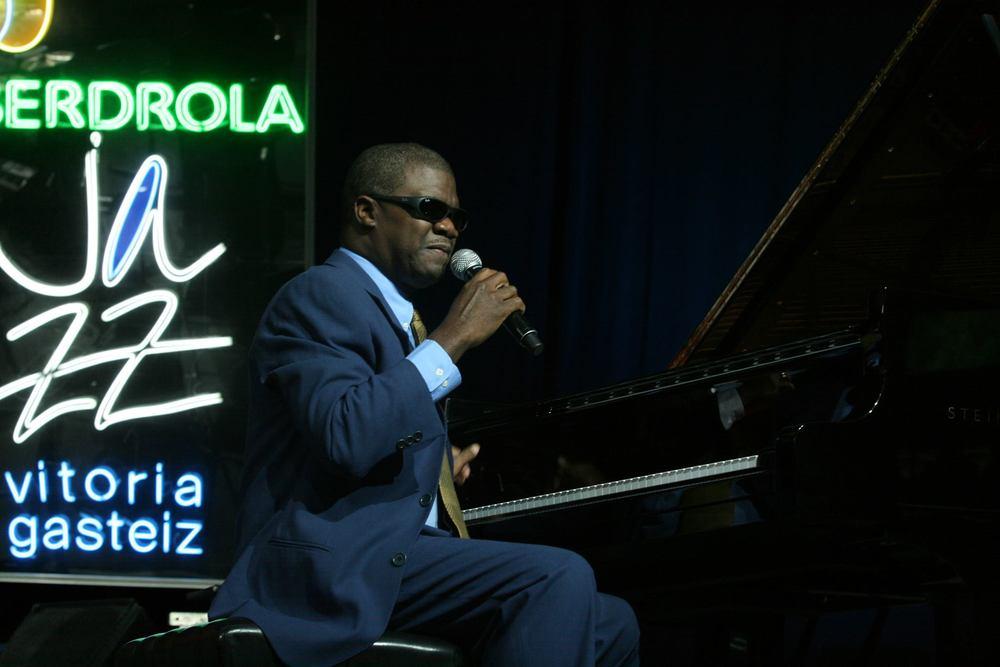 Marcus Roberts au Festival de Jazz de Vitoria en 2010. Crédit photo : Alberto Cabello Mayero