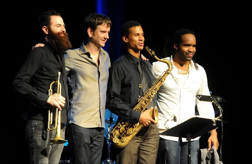 Mark Turner et son quartet, au Reims Jazz Festival.