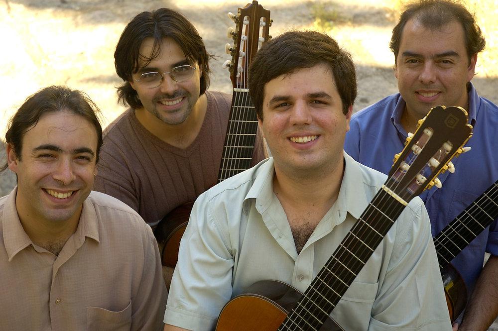 Le quartet Maogani.