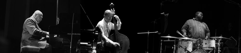 Kenny Barron trio au Festival Nancy Jazz Pulsations. © Juliette Riegel