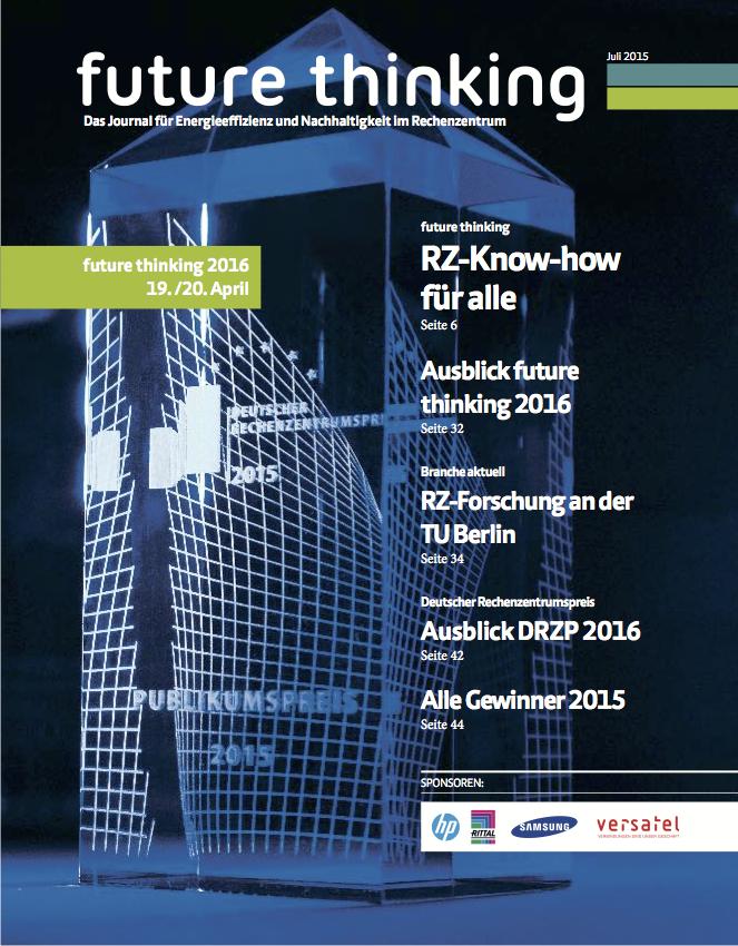 future thinking Journal Juli 2015
