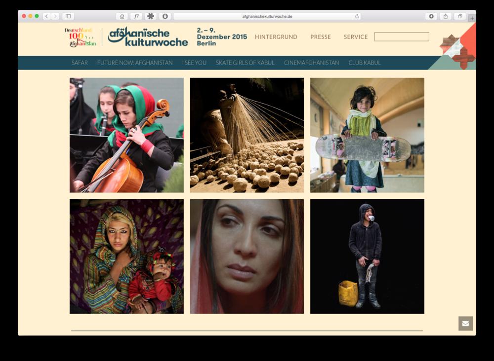 Afghanische Kulturwoche 2015
