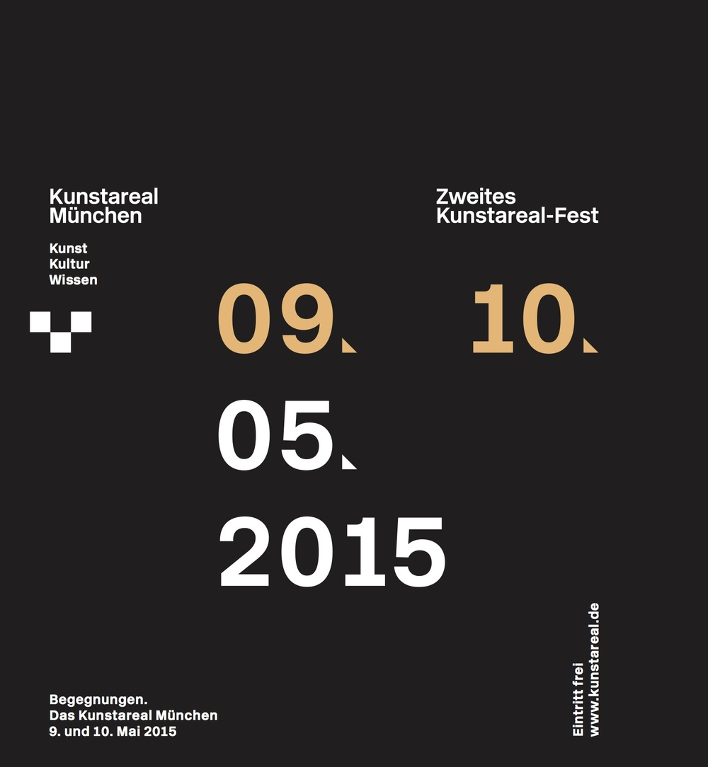 Programmheft Kunstareal-Fest