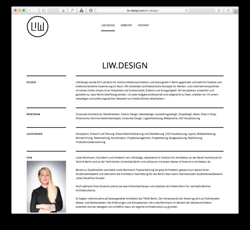 Website | LIW.Design
