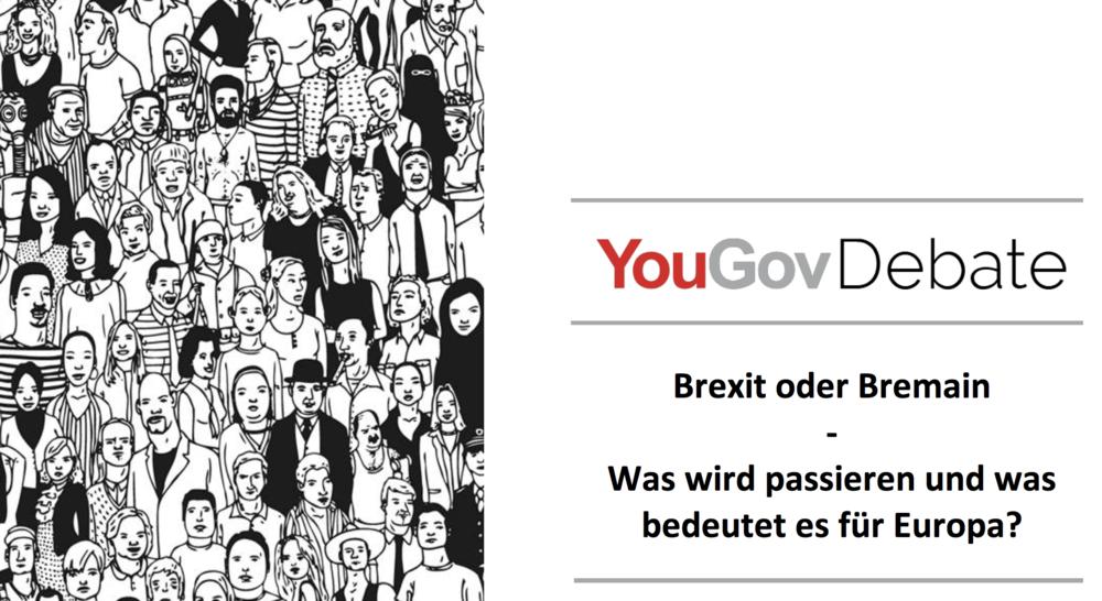 VERANSTALTUNG Berlin Debate | YouGov Deutschland