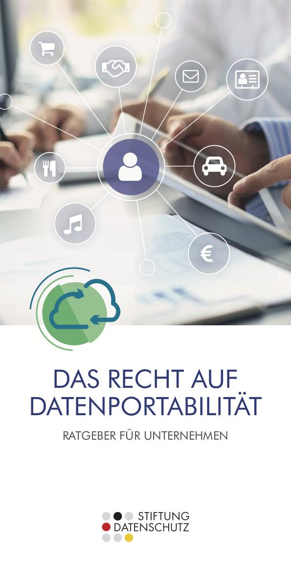 GRAFIK / DESIGN &TEXTE / REDAKTION Broschüren Datenportabilität | Stiftung Datenschutz