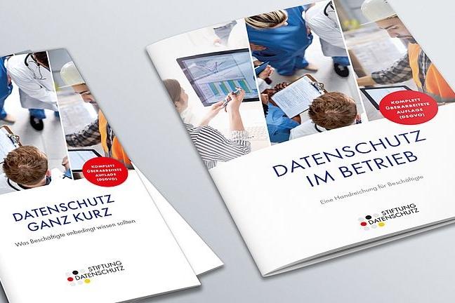 GRAFIK / DESIGN Broschüren | Stiftung Datenschutz
