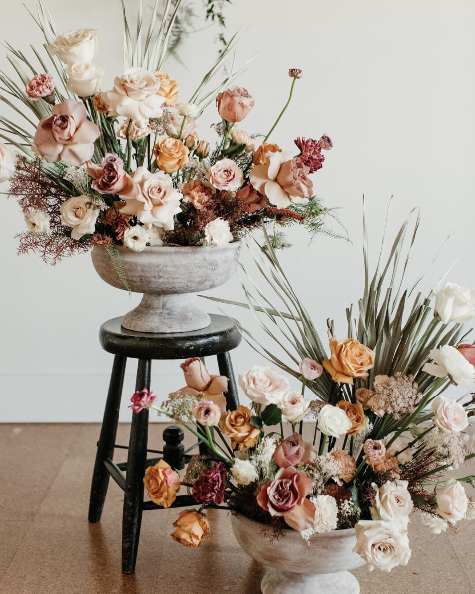 Sea of Roses $$ - We can't say enough good things about Heather and the team at Sea of Roses. You want someone who cares about uniqueness? About an industry-changing approach to your florals? You're at the right place. Heather cares SO much about stepping outside of what is trendy and cool and pinterest-esque to create something that everyone will be talking about. Working with her will be a treat too, she's a friend of ours and tell her we sent you!https://www.seaofroses.com/