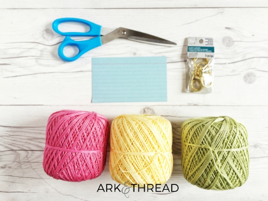 Ark + Thread Tassel Materials