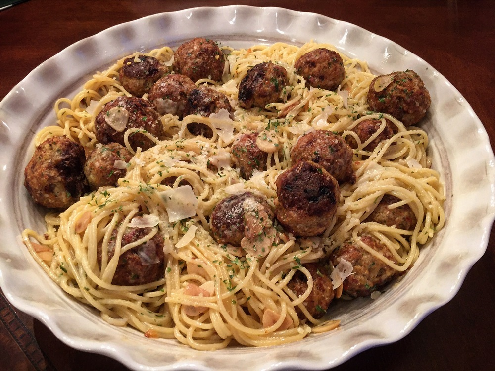 """Veal Bolognese Meatballs"""