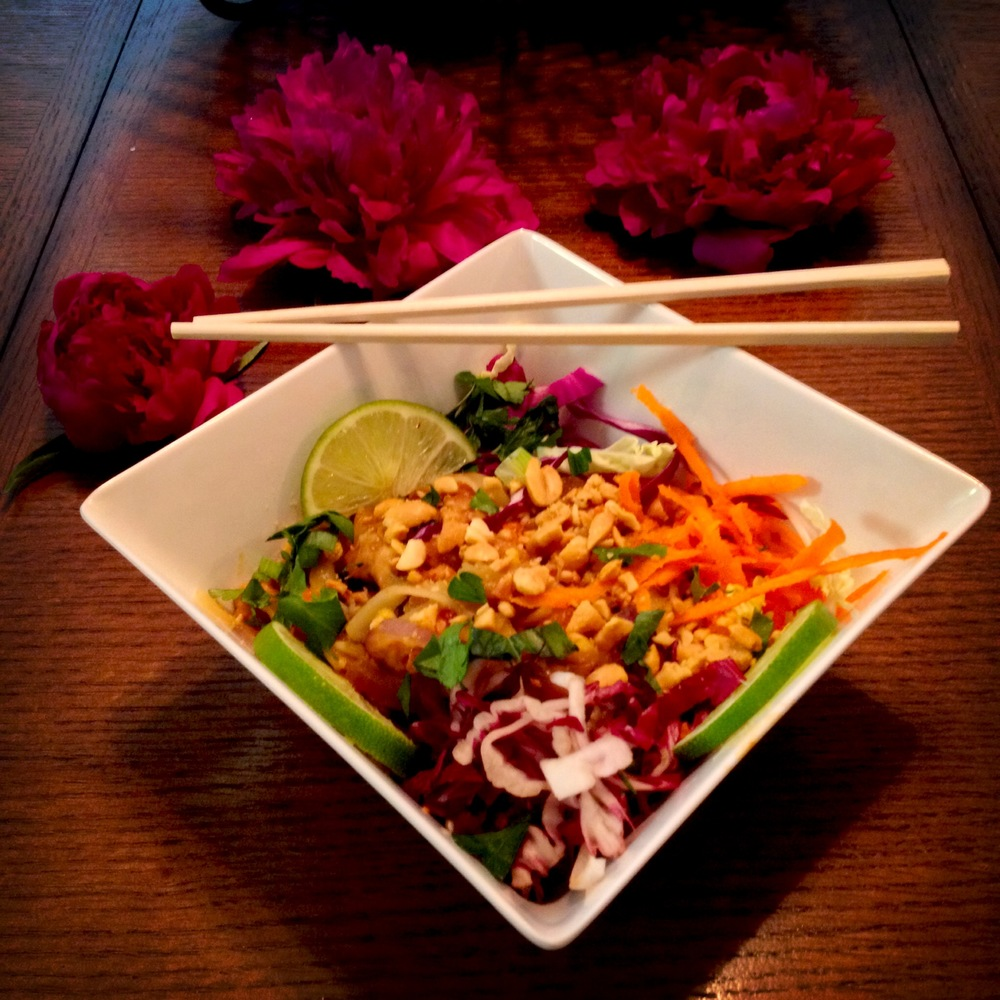 """Chicken Pad Thai"""