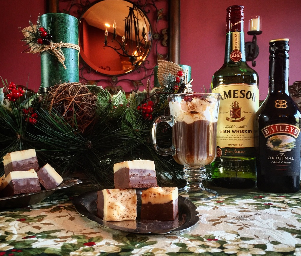 """Irish Coffee Fudge"""
