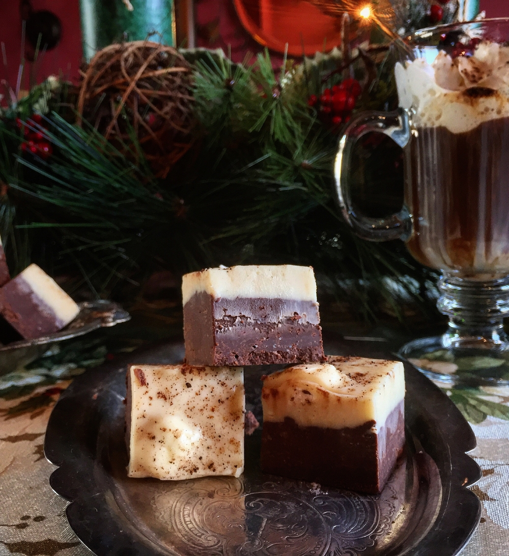 """Decadent Whiskey Fudge"""