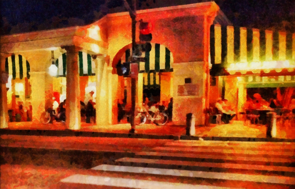 """Cafe at Night"""
