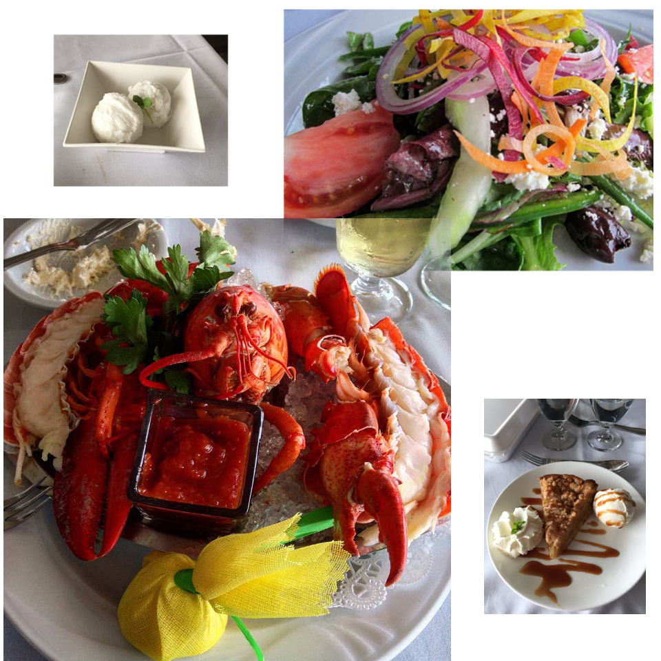 """Perfectly Prepared Lobster & Desserts"""
