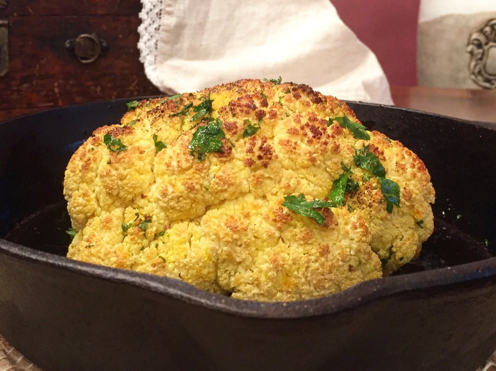 """Roasted Cauliflower"""