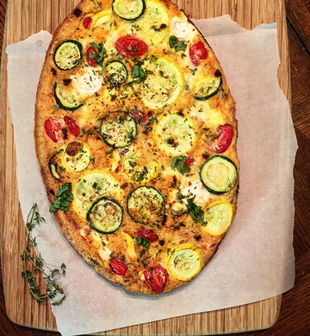 """""""Zucchini, Squash &Ricotta Cheese Frittata"""""""