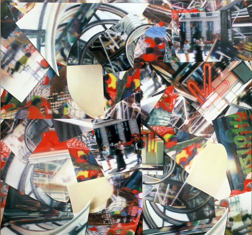 Untitled (Expo) , 2003, oil on canvas, 157 x 190cm, Private collection, France