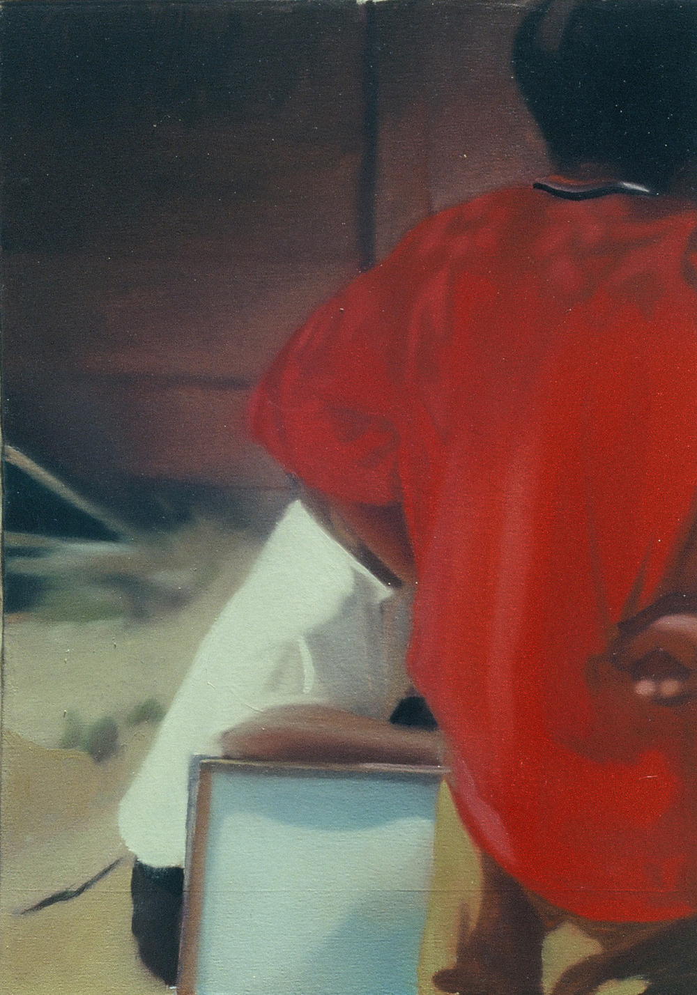 Untitled , 2001, oil on canvas, 60 x 40cm. Private collection, Zimbabwe