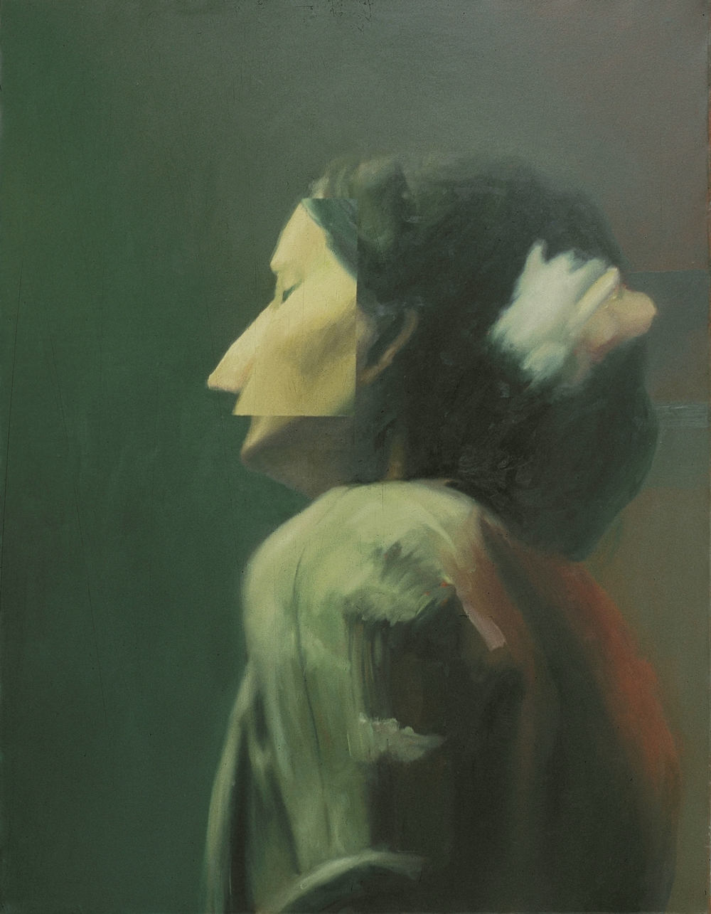 LALA , 1999, oil on canvas, 120 x 80cm. Private collection, France