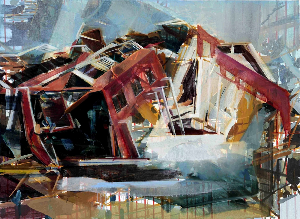 Untitled (Gulliver's Study) , 2010, oil on canvas, 73 x 100cm. Private collection, France