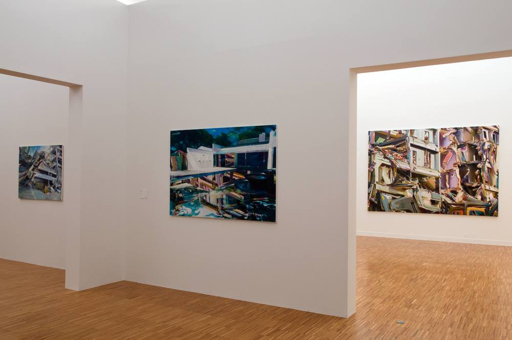 Duncan Wylie - Open House  , Musée de Grenoble, 2009. Curator Guy Tosatto.